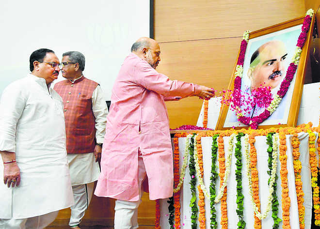 BJP: Nehru refused to probe Jana Sangh founder's death