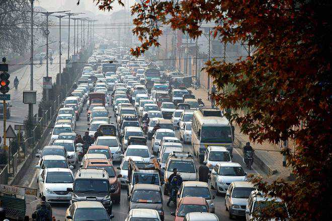 City network incapable of coping with growing traffic