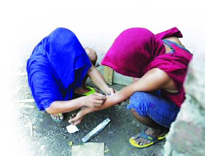 Schoolkids taking to drugs in Haryana