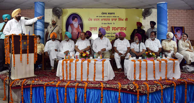 City flyover to be named after Master Tara Singh