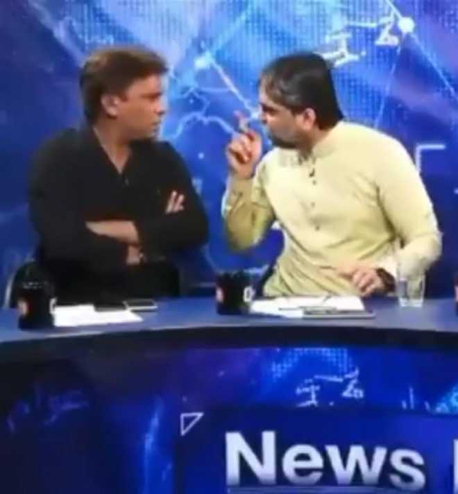 Pakistani politician assaults journalist during live TV debate: Video goes viral