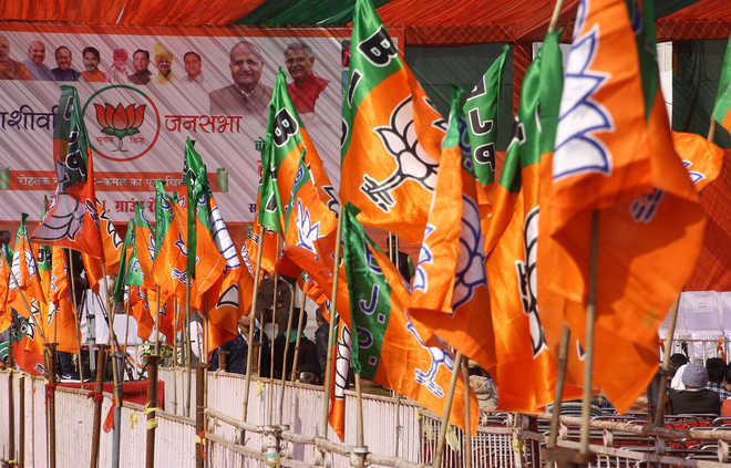 BJP won''t give tickets MPs kin in UP bypolls: Sources