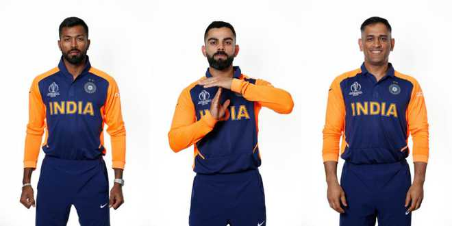 India To Debut Away Orange Jersey For Wc Match Against England