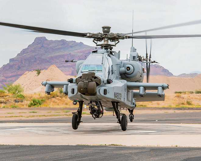 Apache on way, to be deployed in Pathankot