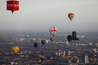 Hot air balloons fly over London as a part of the Lord Mayors Hot Air Balloon Regatta in London, Britain June 9, 2019.  — Reuters