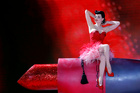 Dita von Teese performs during the opening ceremony of the 26th Life Ball in Vienna, Austria on June 8, 2019. — Reuters