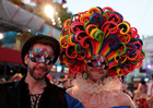 Guests arrive for the opening ceremony of the 26th Life Ball in Vienna, Austria on June 8, 2019. — Reuters