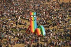 Revellers attend the Glastonbury Festival of Music and Performing Arts on Worthy Farm near the village of Pilton in Somerset, South West England, on June 26, 2019. — AFP