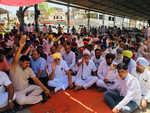 Suicide case: SAD leader Maluka leads protest against police