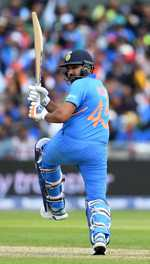 Rohit lifts India to 7th heaven