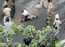 Delhi Police brutally beat up father and son on the street