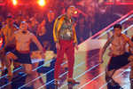 Superheroes  shine at MTV awards