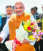 Shah reviews J&K security ahead of Amarnath Yatra