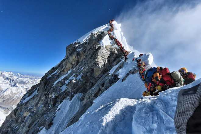 Nepal strives to convert Mount Everest trash into treasure