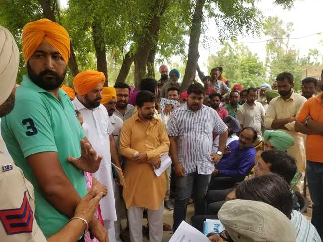 Central team inspects works in Faridkot villages