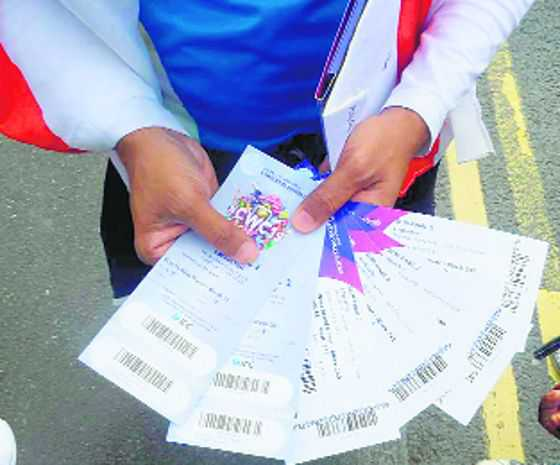 Indian fans with tickets to nowhere