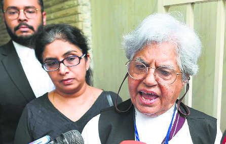 CBI raids home, offices of Indira Jaising, husband