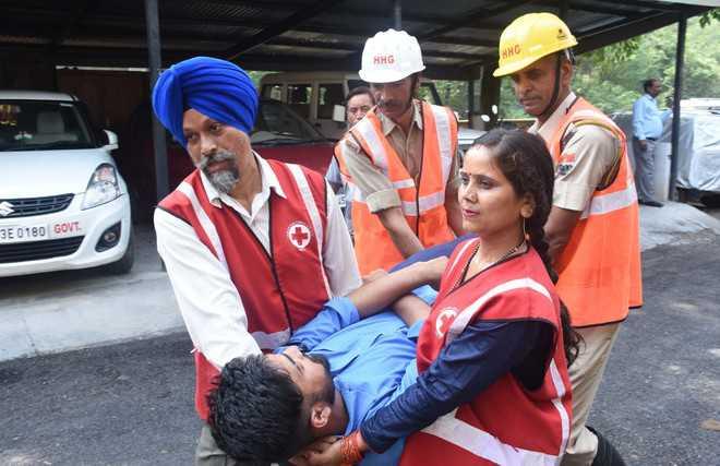 Mock drill to check quake preparedness in state