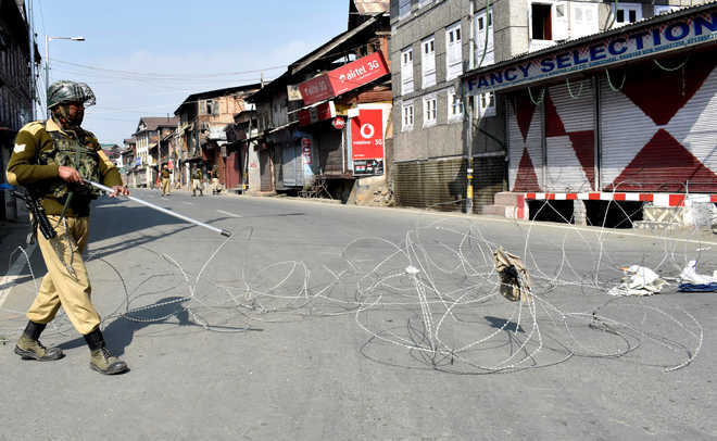 Restrictions imposed in Srinagar on death anniversary of militant