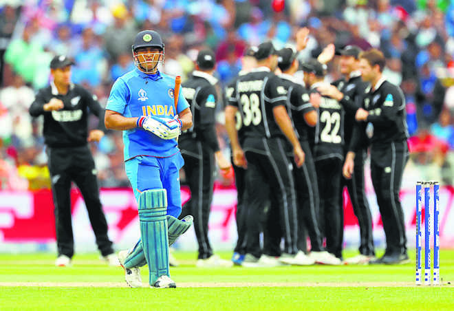 We might have seen Dhoni play last time