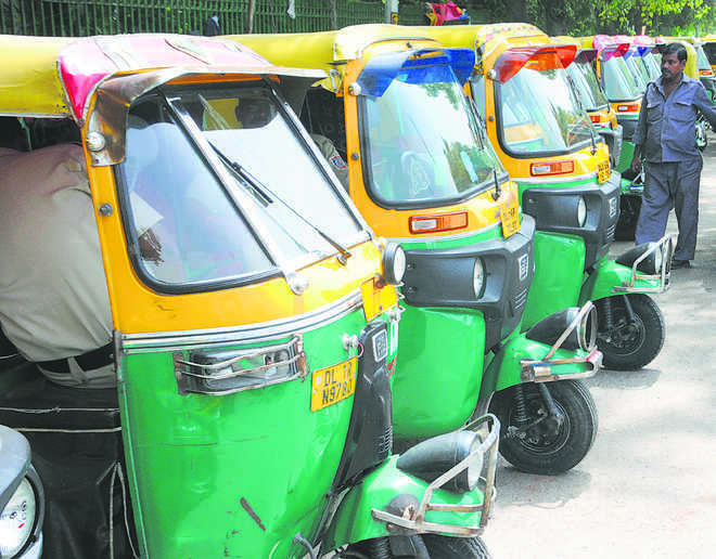 Over 10-year-old autos to go off roads in Gurugram