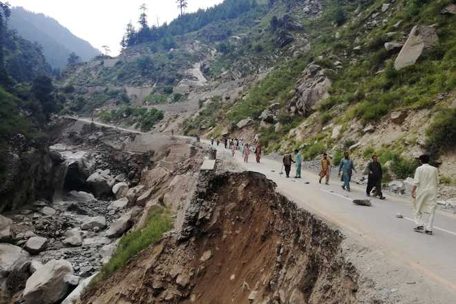 52 rescued after cloud burst wreaks havoc in Pakistan