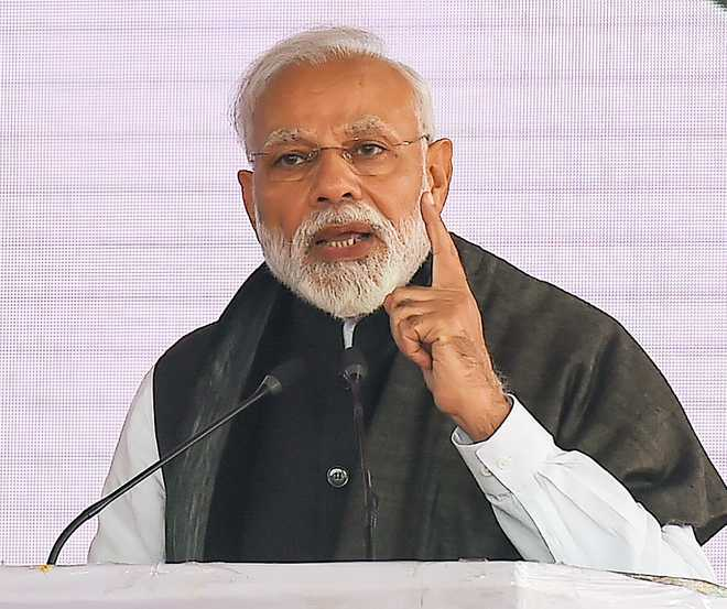 Modi tells party MPs to come up with ideas, find solution to water crisis