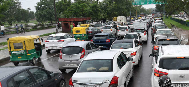 Traffic snarls have commuters fuming
