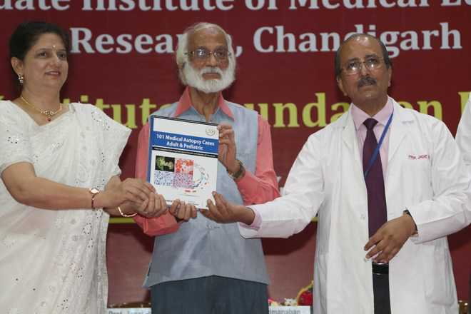 Book on medical autopsies released during celebrations