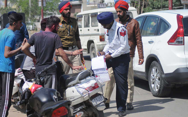 Follow traffic rules or 'balidaan' your licence, says Punjab Police
