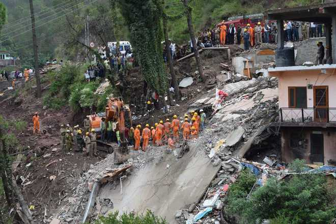SIT to probe building collapse in Solan