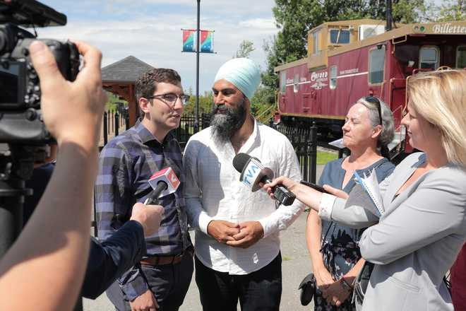 NDP''s Jagmeet kick-starts campaign for Canadian federal polls ahead of rivals