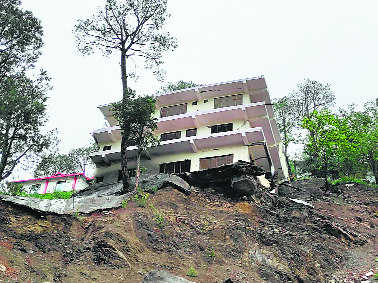 Unsafe building on Shimla NH to be demolished