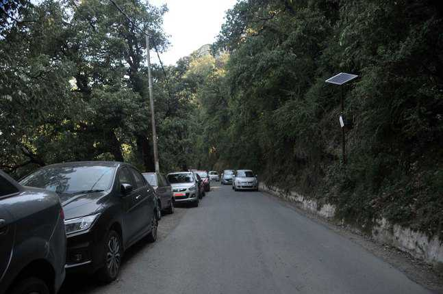 Check parking along main roads: HC
