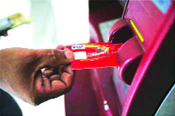 Thieves make off with ATM having Rs 3.6L