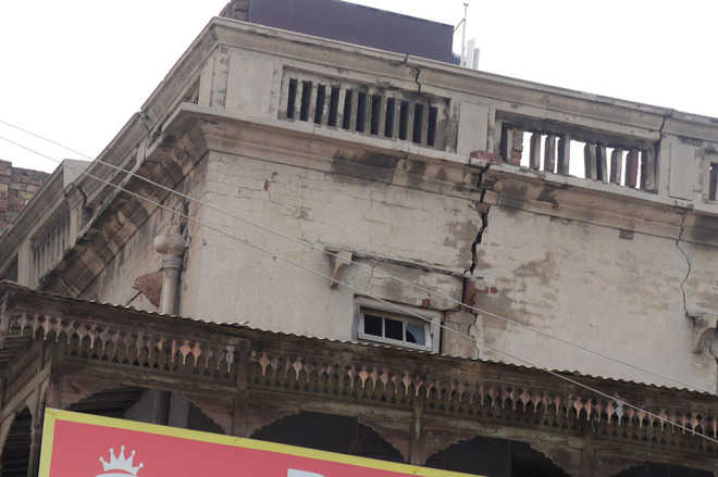 Unsafe buildings a threat to residents