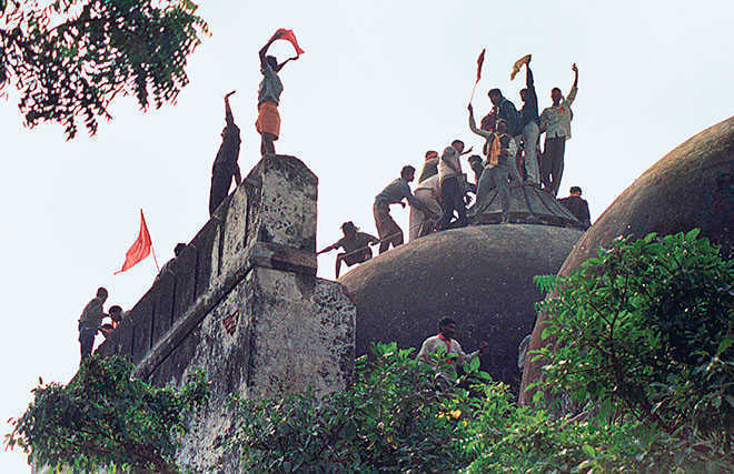Apex court wants ruling in Babri demolition case delivered in 9 months