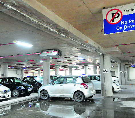 Multi-level parking has firm in spot