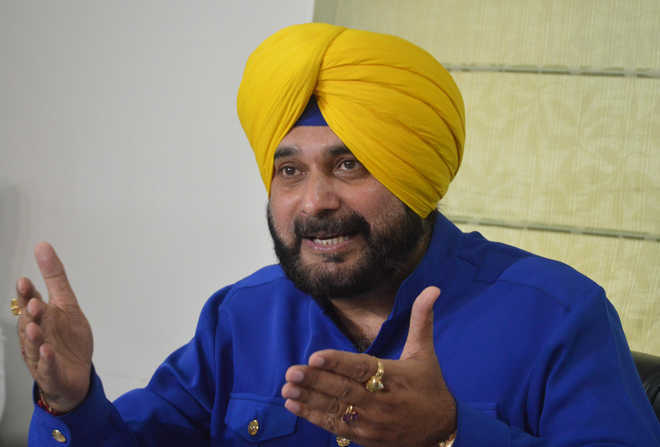 Sidhu's one-line resignation accepted