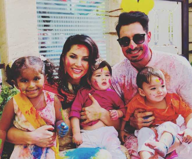 Sunny Leone opens up about her son, Asher being compared to Taimur Ali Khan