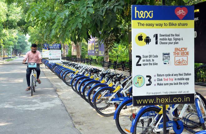 City's bicycle-sharing project gathers pace