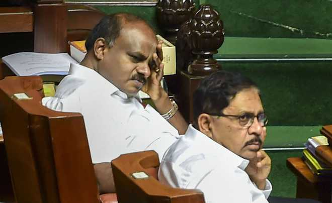 Karnataka assembly adjourned till Tuesday without voting on confidence motion