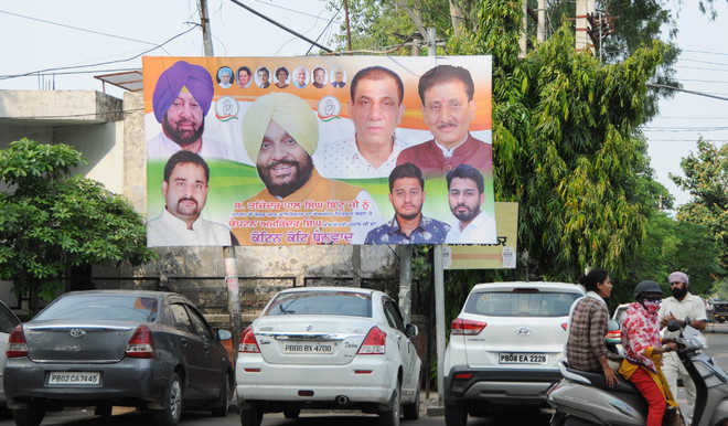 Post-appointment of PUNSUP chief, hoardings dot city