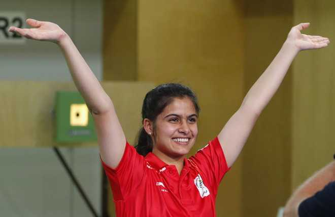 Gold medallist Manu Bhaker secures admission in DU under sports quota