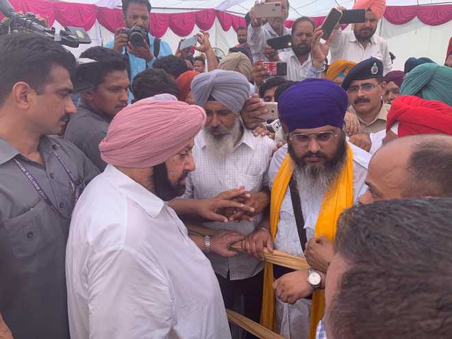 Ghaggar flood: Capt urges Haryana to join hands; says relief after survey