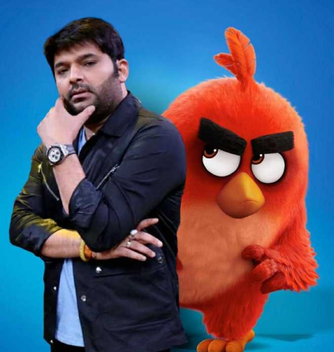 Kapil Sharma to voice 'Red' in Hindi version of 'The Angry