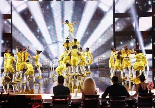 Indian dance group stuns judges with death-defying moves on