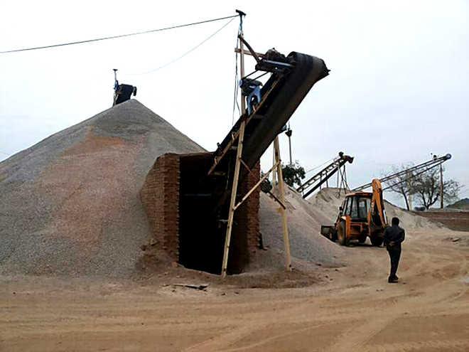 M'garh stone crushers using groundwater illegally: Report