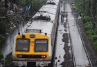 A view of the waterlogged railway tracks after heavy monsoon rain, at Ghatkopar in Mumbai, Tuesday, July 2, 2019. — PTI