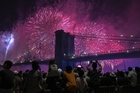 People on the east side of Manhattan watch a fireworks display, part of Independence Day festivities, Thursday, July 4, 2019, in New York. — AP/PTI